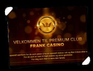 Frank VIP bonus
